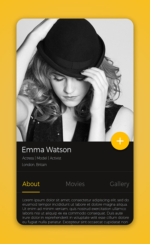 50 Innovative Material Design UI Concepts with Amazing User Experience - 28
