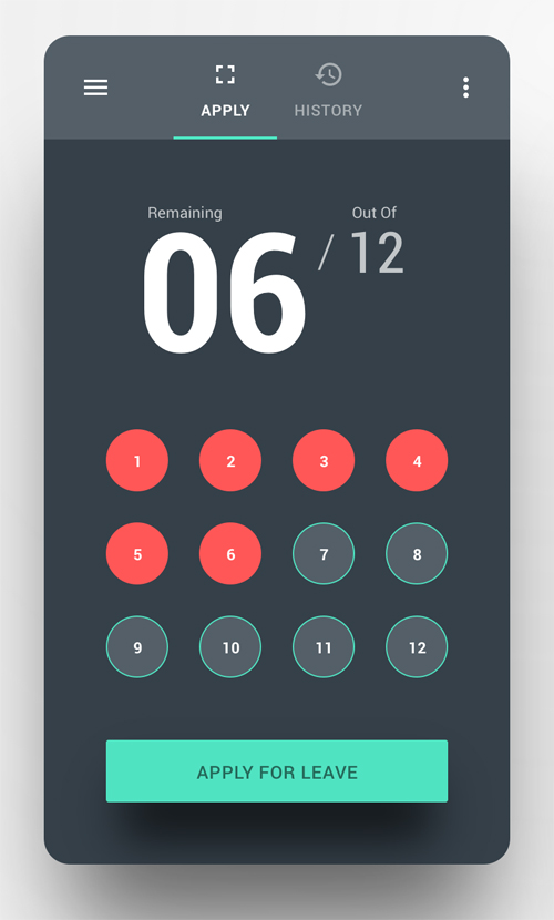 50 Innovative Material Design UI Concepts with Amazing User Experience - 3
