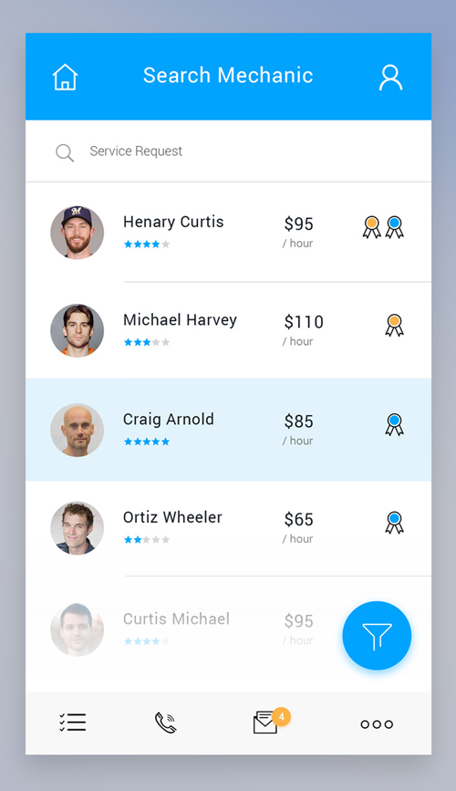 50 Innovative Material Design UI Concepts with Amazing User Experience - 34