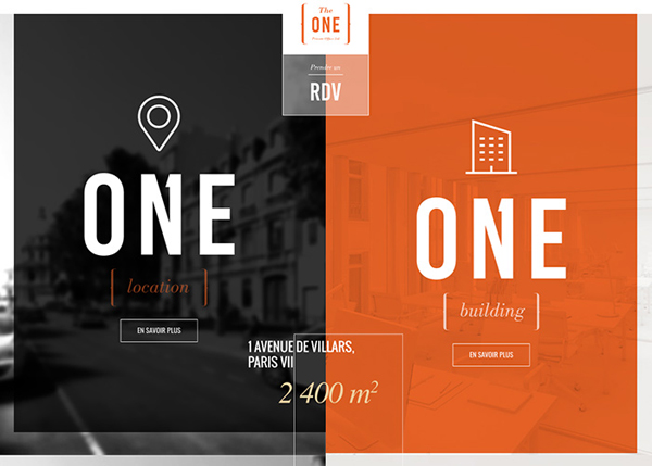 One Page Websites - 50 Fresh Web Examples - 34