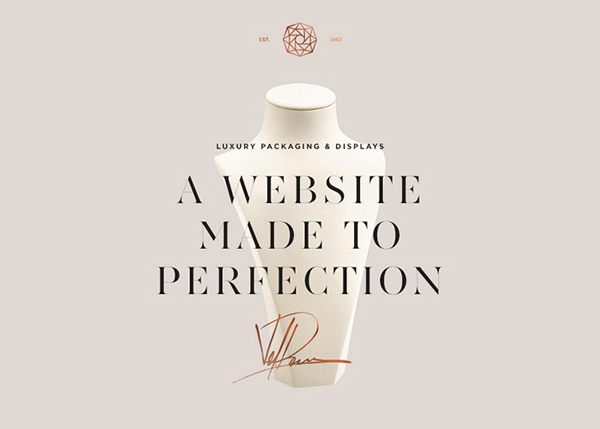 One Page Websites - 50 Fresh Web Examples - 38