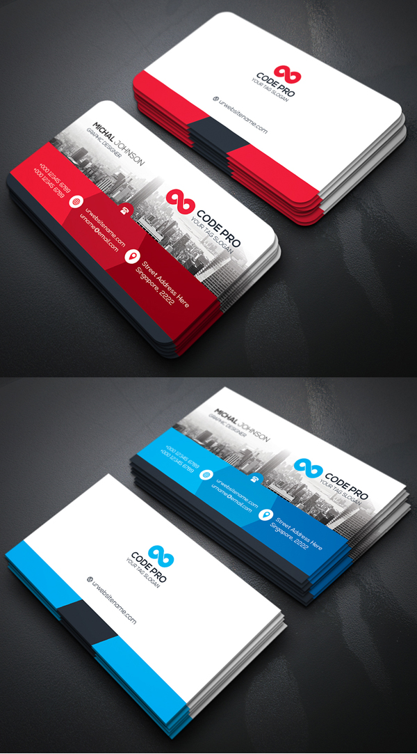 Corporate Business Branding Stationery
