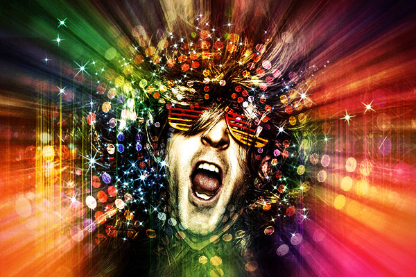 Create a Crazy Disco Effect with Adobe Photoshop