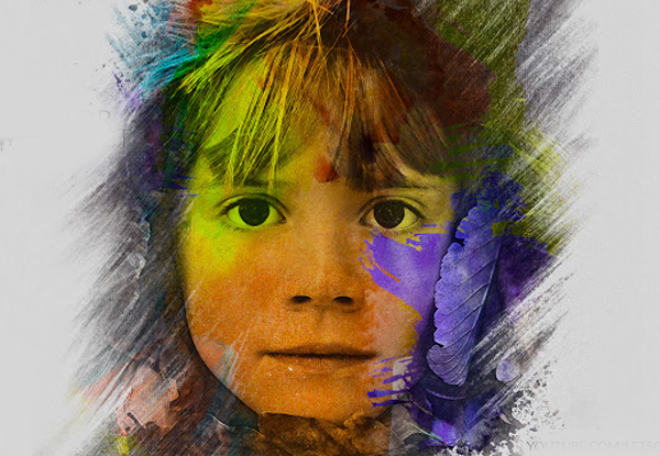 Create an Amazing Watercolor Manipulation Effect in Photoshop