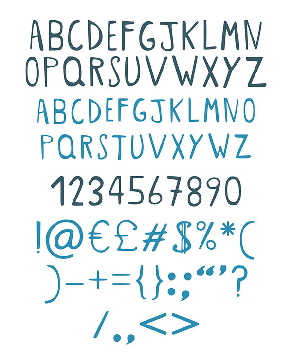 Crazy cat Lady fonts and letters