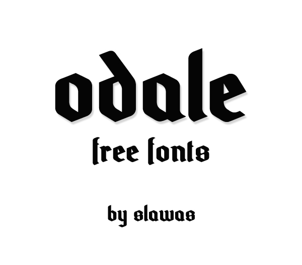 Odale Free Hipster Fonts
