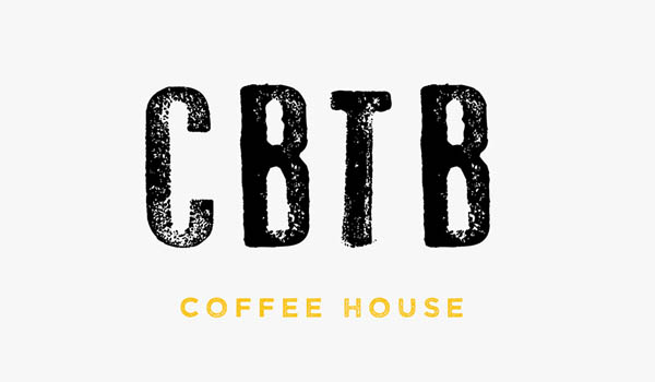 Coffee by the Beans Logo design