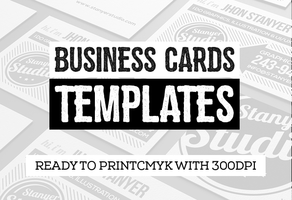 Business Cards Design: 26 Ready to Print Templates