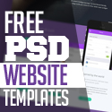 Post thumbnail of 15 Free Responsive PSD Website Templates