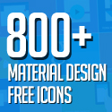 Post Thumbnail of 800+ Material Design Free Icons for Web, iOS and Android UI Design