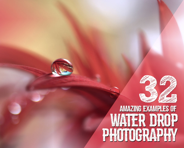 32 Beautiful Examples Of Water Drop Photography