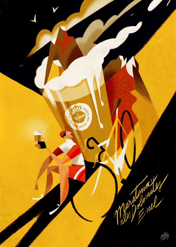Awe-Inspiring Illustrations and Paint Art Posters by Riccardo Guasco