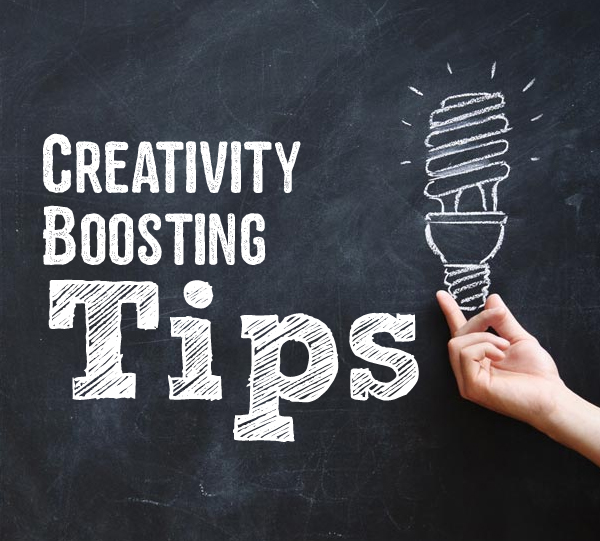 Check out these creativity boosting tips