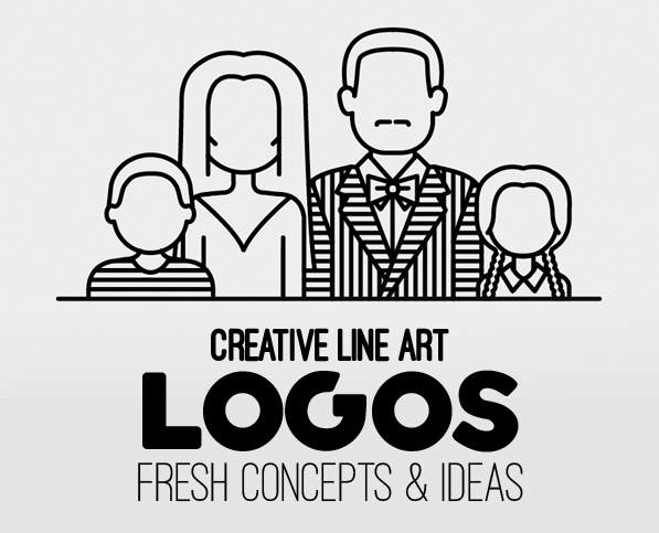 Line Art Used in Logo Design – 30 Fresh Concepts and Ideas