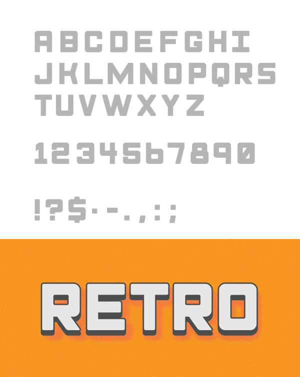 Monk fonts and letters