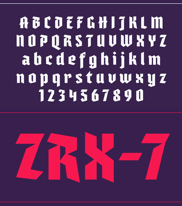 Varna fonts and letters
