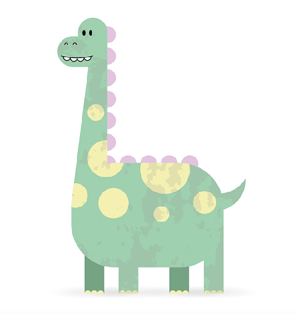 How To Create a Cute Dinosaur Character in Adobe Illustrator