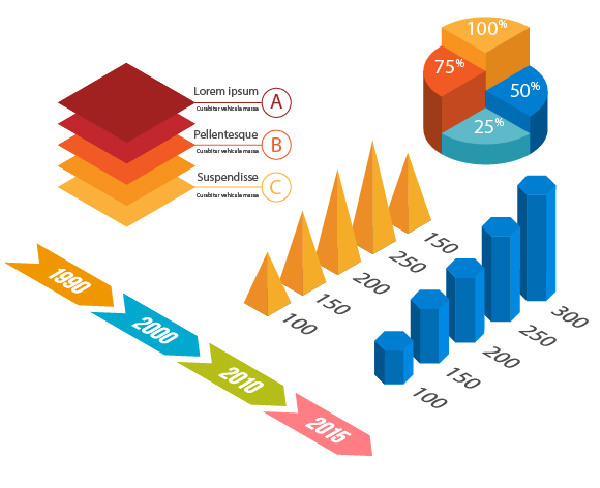 How to Create Isometric Vector Infographic Elements