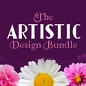 Post Thumbnail of The Artistic Design Bundle (60 Fonts & 2377 Graphics)