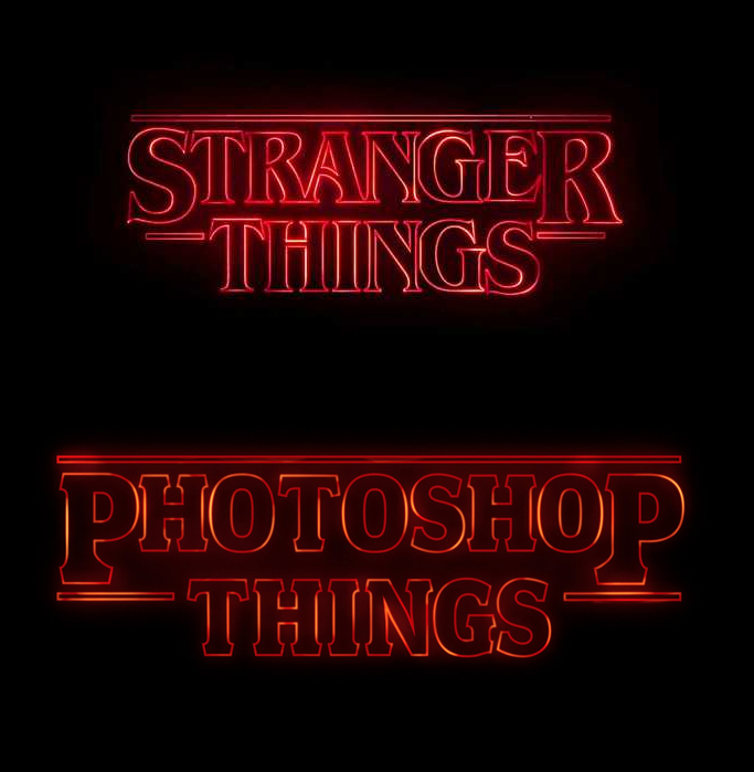 How to recreate the Stranger Things text effect in Illustrator