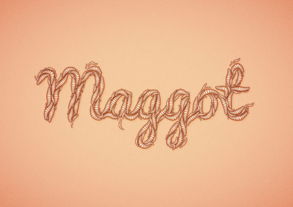 How to Create a Maggot Text Effect in Adobe Illustrator