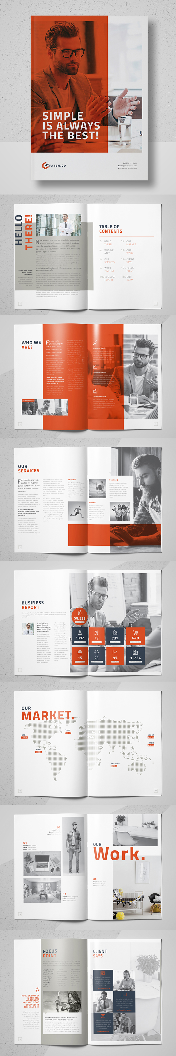 Equilux Brochure Template