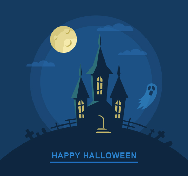 Create a Bootiful Haunted House Vector Illustration Tutorial