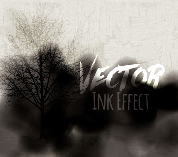 How to create a vector ink effect in Adobe Illustrator