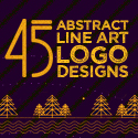Post Thumbnail of 45 Best Line Art Logo Designs for Inspiration