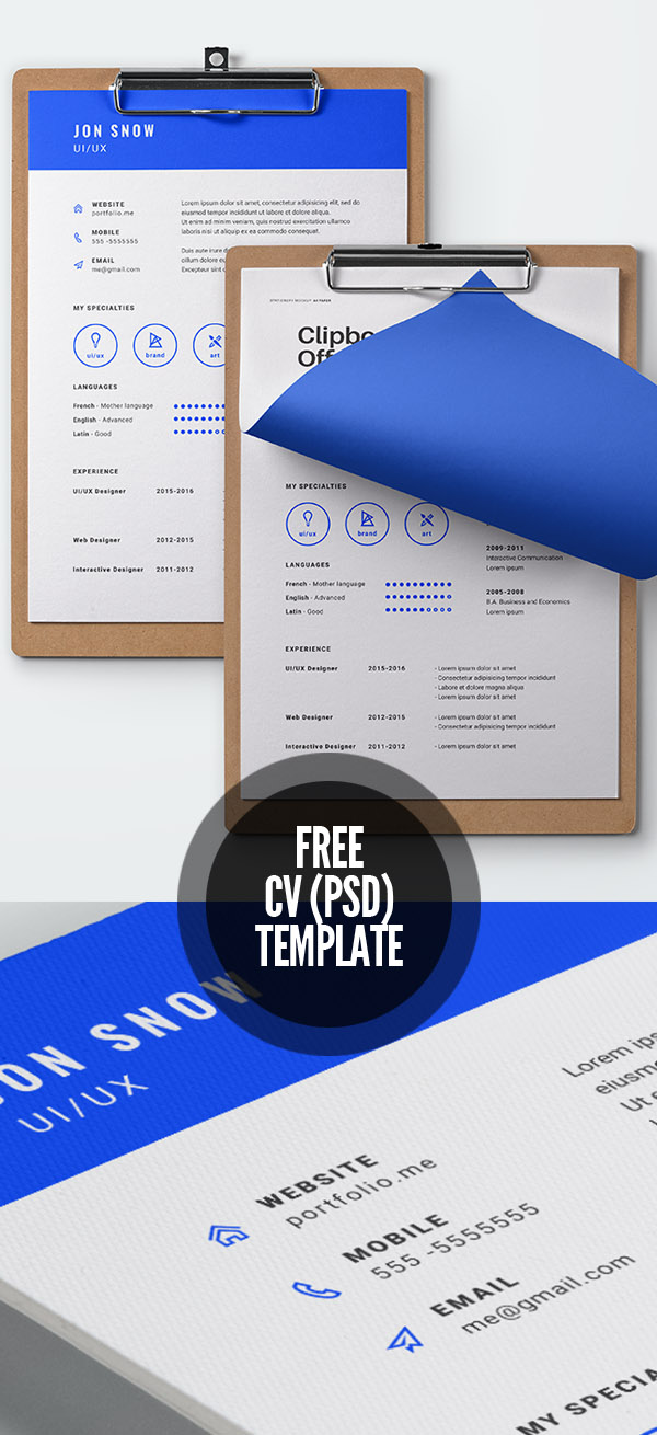 50 Free Resume Templates: Best Of 2018 -  48