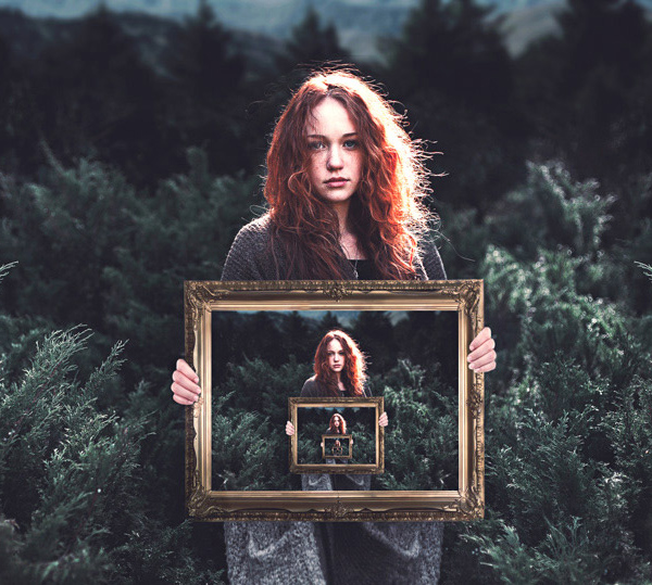 How to Create an Endless Picture Within a Picture Illusion in Adobe Photoshop