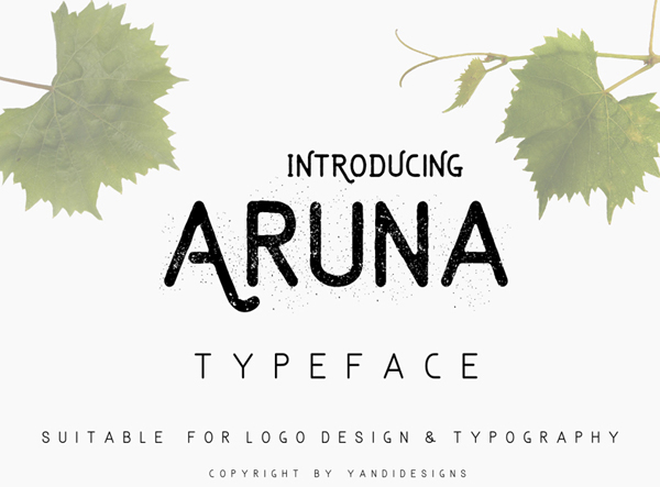 50 Best Free Fonts For 2017 - 12