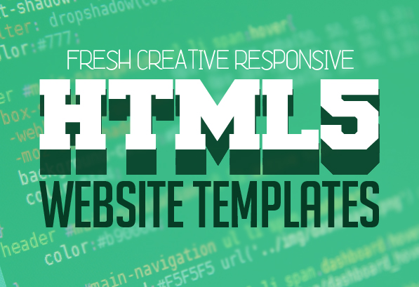 25 Fresh Creative HTML5 Website Templates (PSD & HTML)