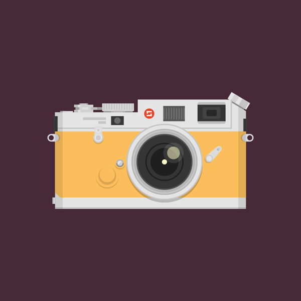 How to Create a Vintage Camera in Adobe Illustrator