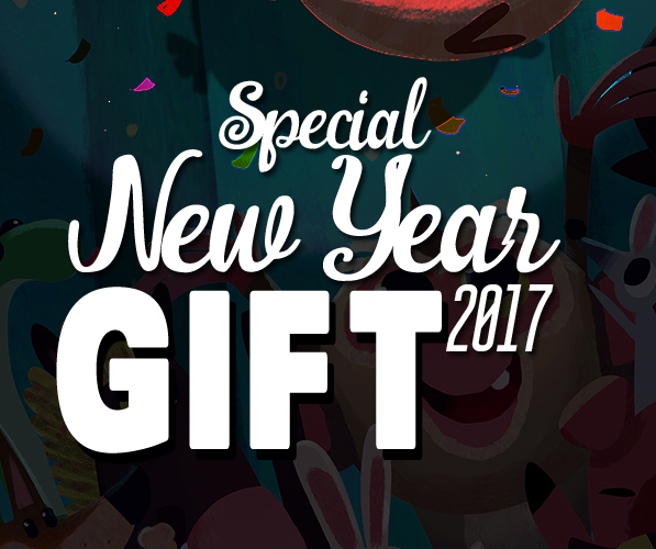 Special New Year 2017 FREE Gift