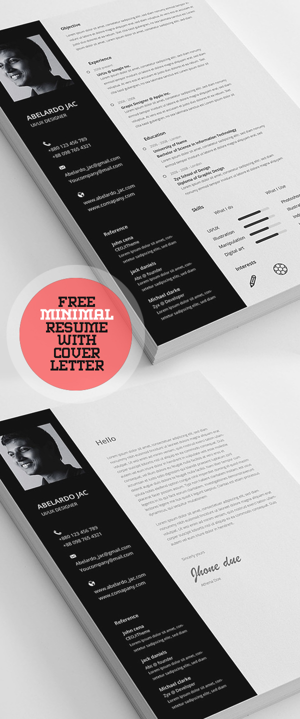 50 Free Resume Templates: Best Of 2018 -  43