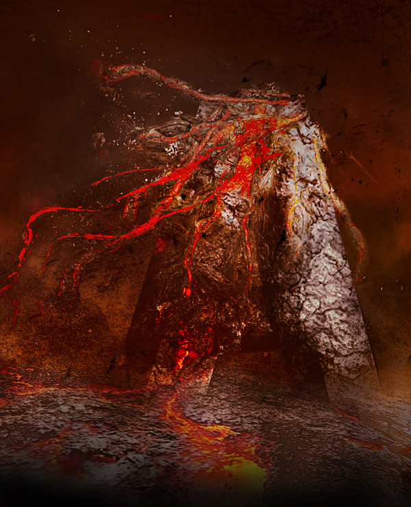Create Volcanic Lava Flow 3D Text Effect In Photoshop
