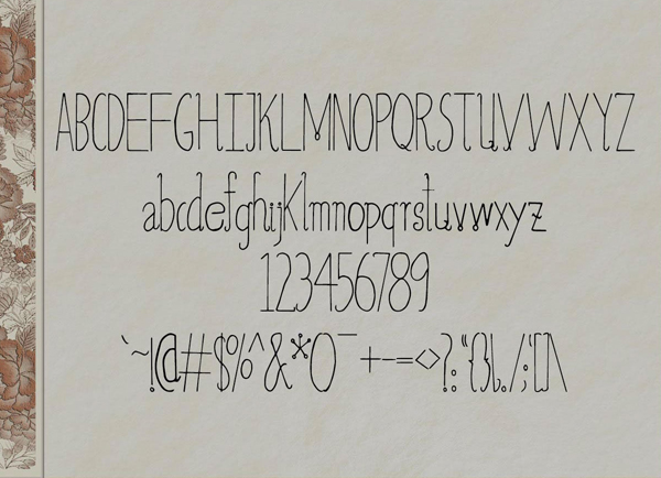 Aaminah Free Font & Letters