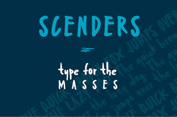 Scenders Free letters