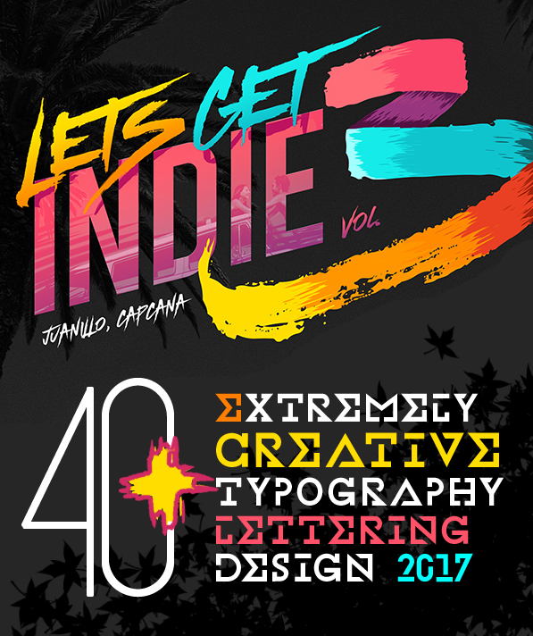40+ Extremely Creative Typography Designs
