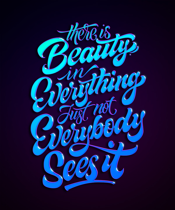 40+ Extremely Creative Typography Designs - 22