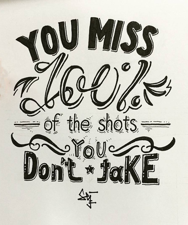 40+ Extremely Creative Typography Designs - 31
