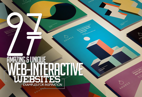 27 Web and Interactive Websites for Inspiration