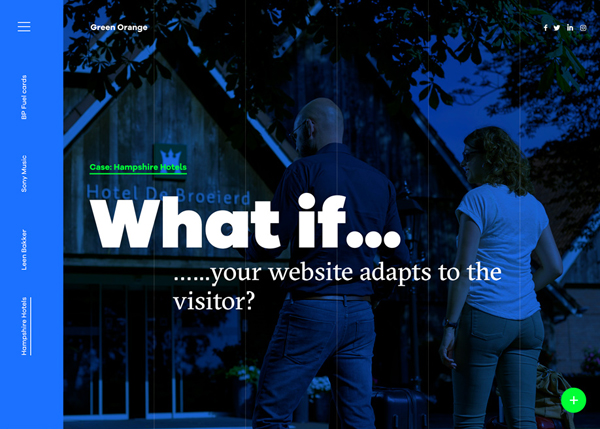 27 Web and Interactive Websites for Inspiration - 22