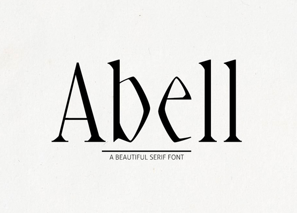 Abell Free Font