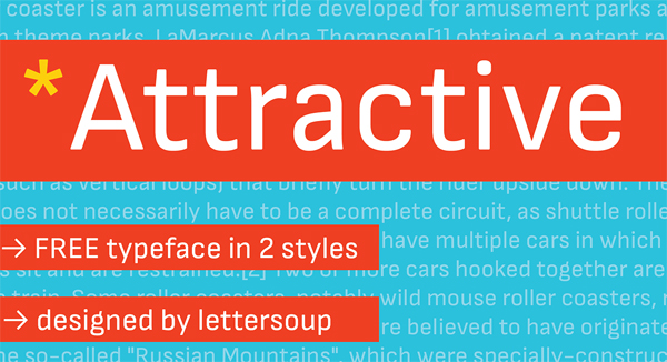 Attractive Free Font