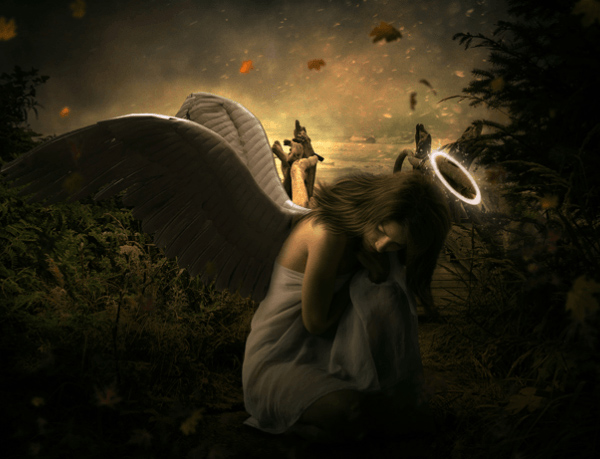 How to Create a Beautiful and Emotional Angel Photo Manipulation in Photoshop