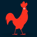 Post Thumbnail of 50 Creative Rooster Logo Designs for Inspiration