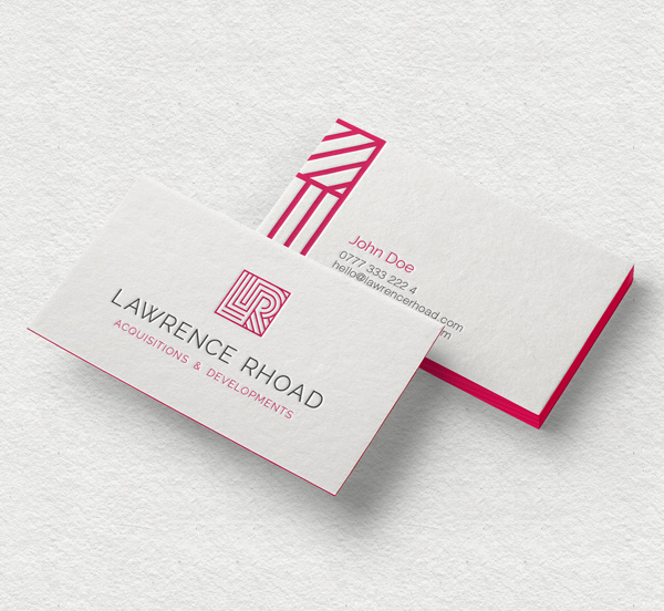 Branding: Lawrence Rhoad - Business Card