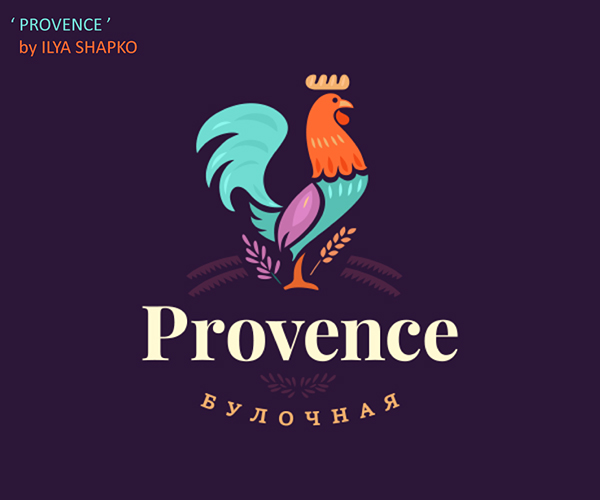 50 Creative Rooster Logo Designs for Inspiration - 22